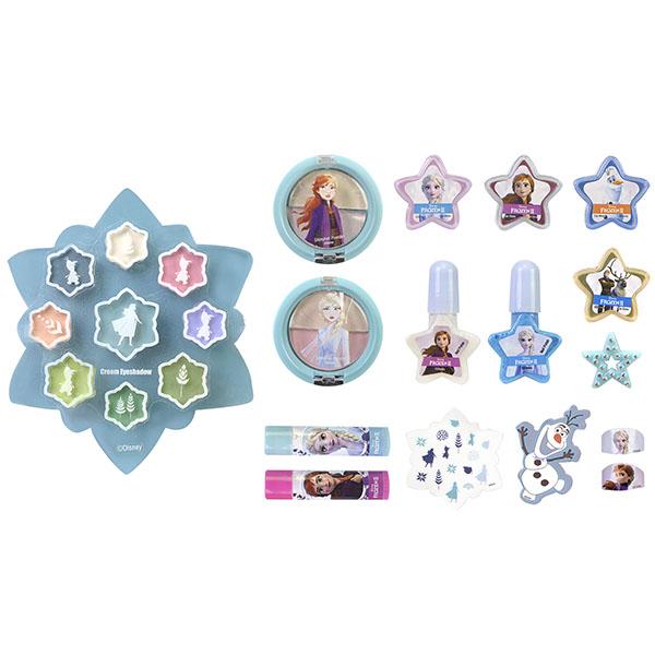 Markwins 1599009E Frozen Игровой набор детской декоративной косметики для лица и ногтей
