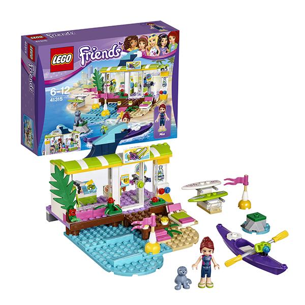 Лего Подружки 41315 Конструктор Сёрф-станция