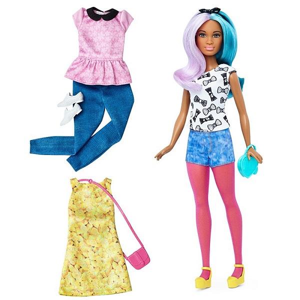 Mattel Barbie DTF05 Игровой набор из серии Игра с модой куклы и одежда для кукол barbie mattel кен из серии игра с модой fnh40