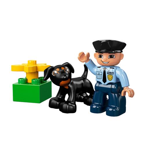 Лего Дупло 5678 Конструктор Полицейский