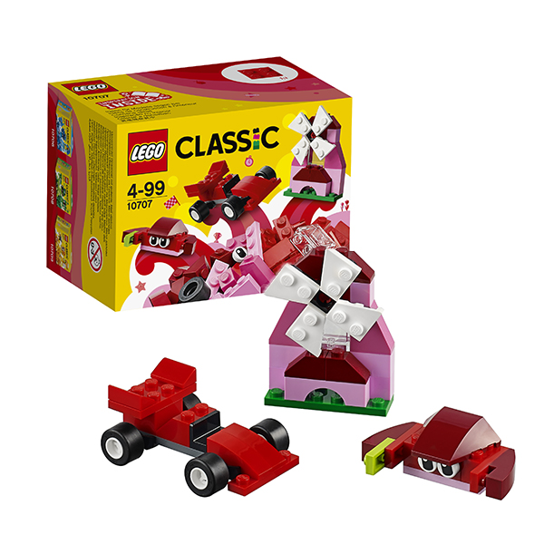 Lego Classic 10707 Конструктор Лего Классик Красный набор для творчества professional 2 lines 2 points 360 rotary cross laser line leveling self leveling precision laser level kit with tripod