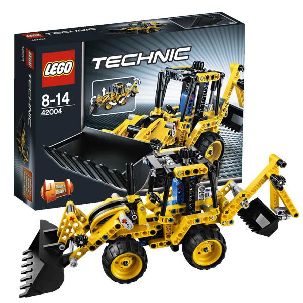 Лего Техник 42004 Конструктор Экскаватор-погрузчик