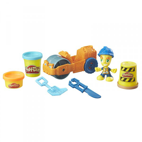 Hasbro Play-Doh B6282 Паровой каток анна игнатова вектор пластилина