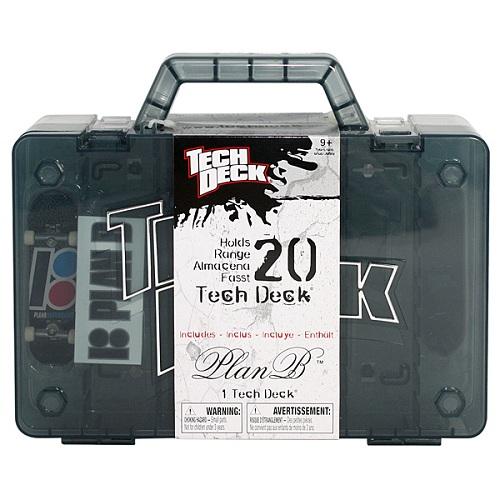 Tech Deck 13839 Тек Дек Фингерборд с чемоданчиком для хранения фингербордов
