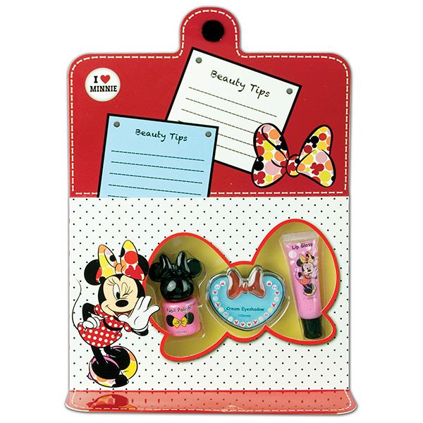 Markwins 9605251 Minnie Набор детской декоративной косметики для лица и ногтей