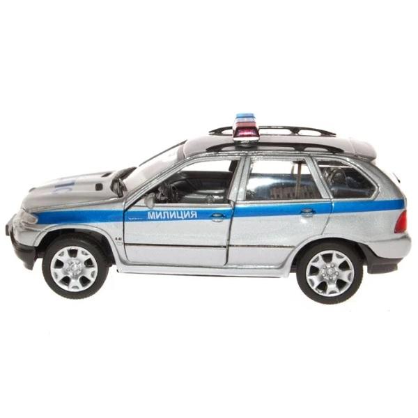 Welly 49752R Велли Модель машины 1:34-39 BMW X5 милиция ДПС