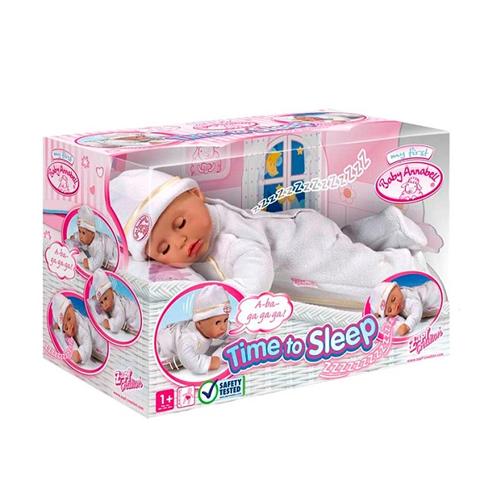 Zapf Creation Baby Annabell 790-281_1 Бэби Аннабель Кукла Тихий час, 36 см