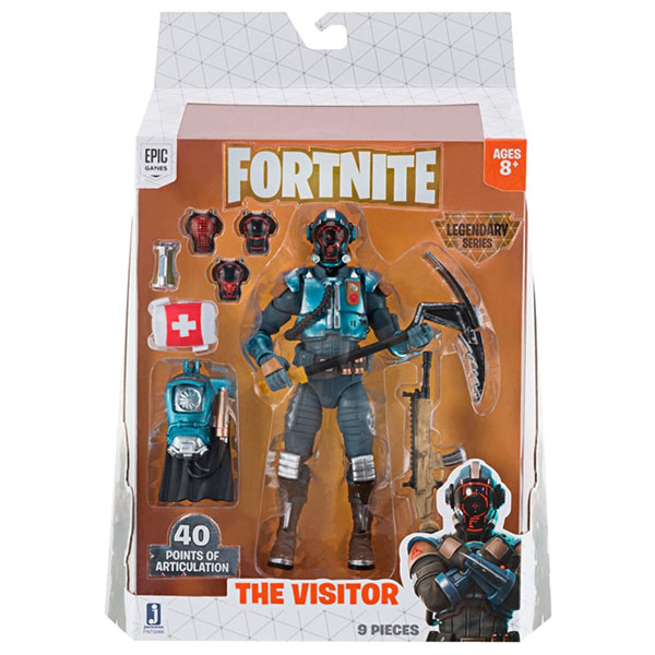 Fortnite FNT0066 Фигурка The Visitor с аксессуарами