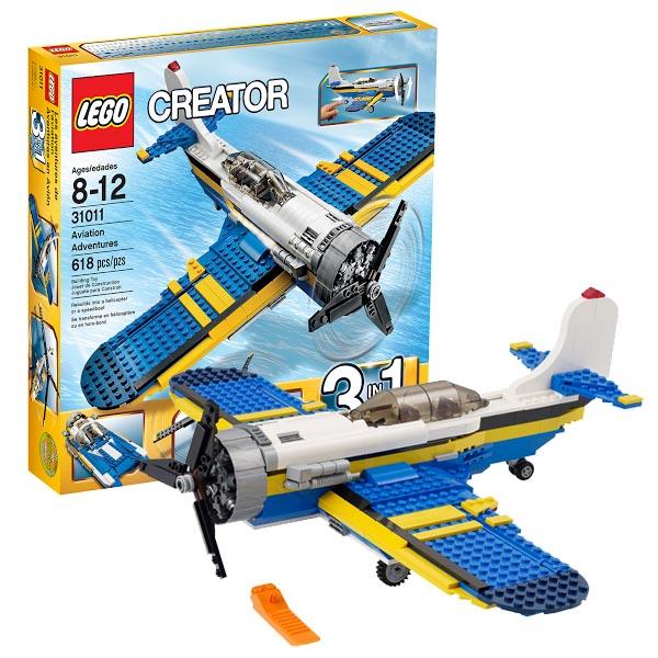 Lego Creator 31011_1 Конструктор Лего Криэйтор Авиационные приключения