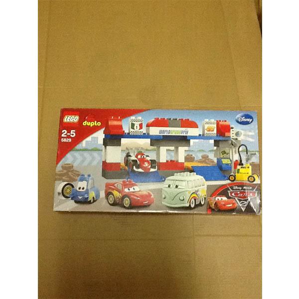 LEGO DUPLO Cars 5829_1 Конструктор Лего Дупло Тачки 2 Пит-стоп