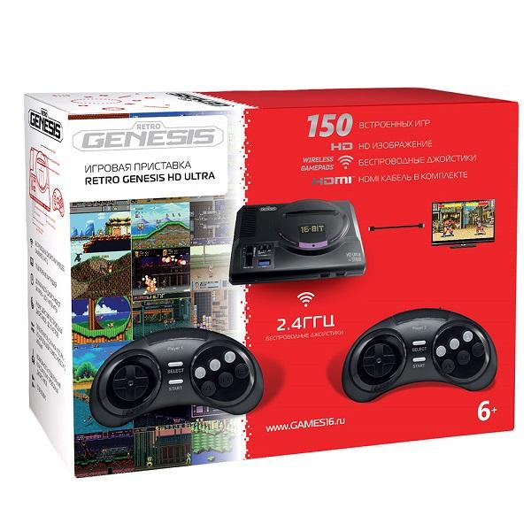 Приставки ConSkDn70 SEGA Retro Genesis HD Ultra + 150 игр