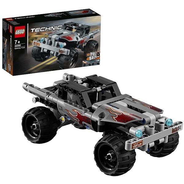 Фото - LEGO Technic 42090 Конструктор ЛЕГО Техник Машина для побега lego technic 42076 конструктор лего техник корабль на воздушной подушке