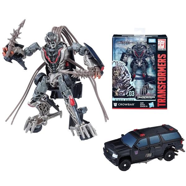 Hasbro Transformers E0701/E0741 Трансформеры Краубар 20 см hasbro transformers e0701 e0747 трансформер коллекционный автобот локдаум 20 см