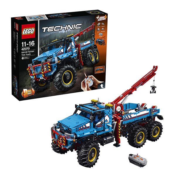 Lego Technic 42070 Лего Техник Аварийный внедорожник 6х6 lego горный внедорожник 70589