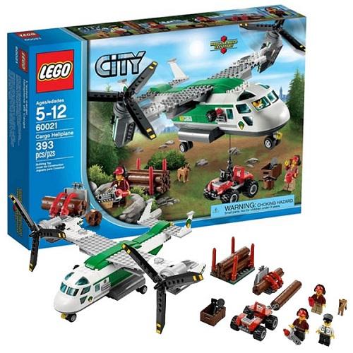 LEGO City 60021 Конструктор ЛЕГО Город Грузовой конвертоплан