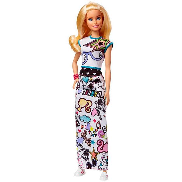 Mattel Barbie FPH90 Барби + Crayola одежда-раскраска