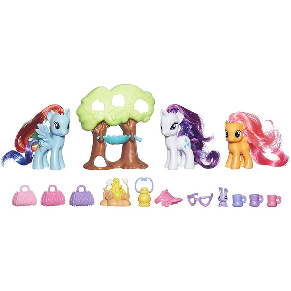 Hasbro My Little Pony B3715_9 Май Литл Пони Путешествие в кемпинг