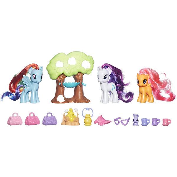 Hasbro My Little Pony B3715_9 Май Литл Пони Путешествие в кемпинг