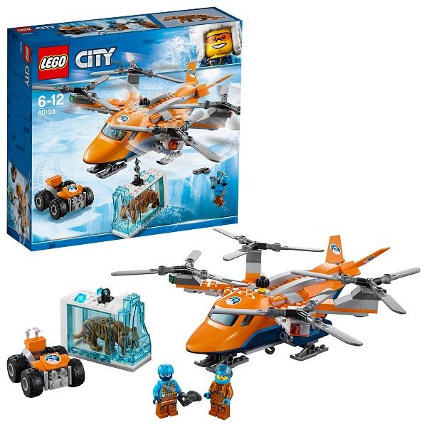 все цены на Lego City 60193 Конструктор Лего Город Арктическая экспедиция Арктический вертолёт