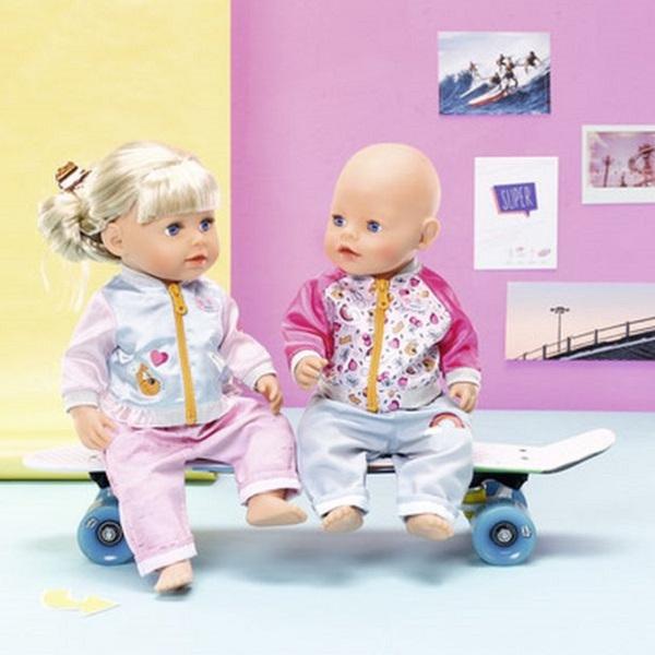 Zapf Creation Baby born 824-542 Бэби Борн Штанишки и кофточка для прогулки