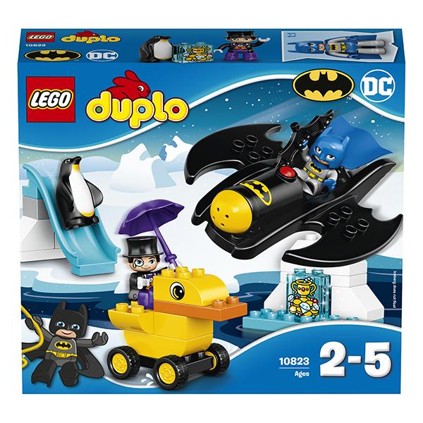 LEGO DUPLO 10823 Конструктор ЛЕГО ДУПЛО Приключения на Бэтмолёте