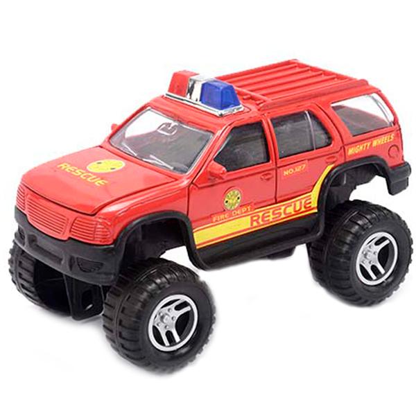 Soma 79618 Пожарный внедорожник 18 см машинки и мотоциклы soma внедорожник soma 8 см в асс