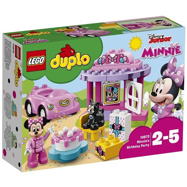 LEGO DUPLO 10873 Конструктор ЛЕГО ДУПЛО Дисней День рождения Минни