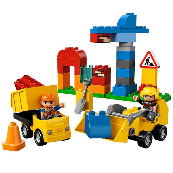 Лего Дупло 10518 Моя первая стройплощадка