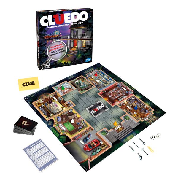 Hasbro Other Games A5826 Настольная игра Клуэдо обновленная настольная игра hasbro hasbro настольная игра games игра клуэдо обновленная