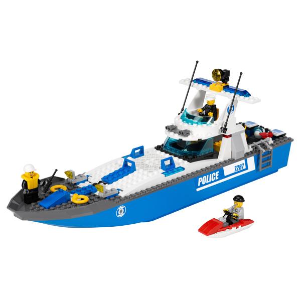 LEGO City 7287 Конструктор ЛЕГО Город Полицейский катер