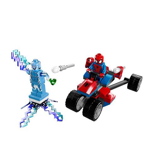 Конструктор Lego Super Heroes 76014 Лего Супер Герои Трехколесный байк Человека-Паука против Электро
