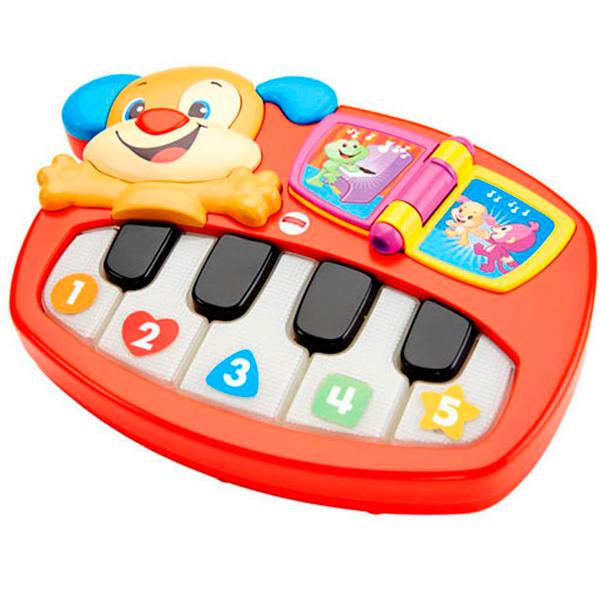 Mattel Fisher-Price DLK15 Фишер Прайс Пианино - щенок игровые наборы fisher price mattel игровой набор парящий фрегат