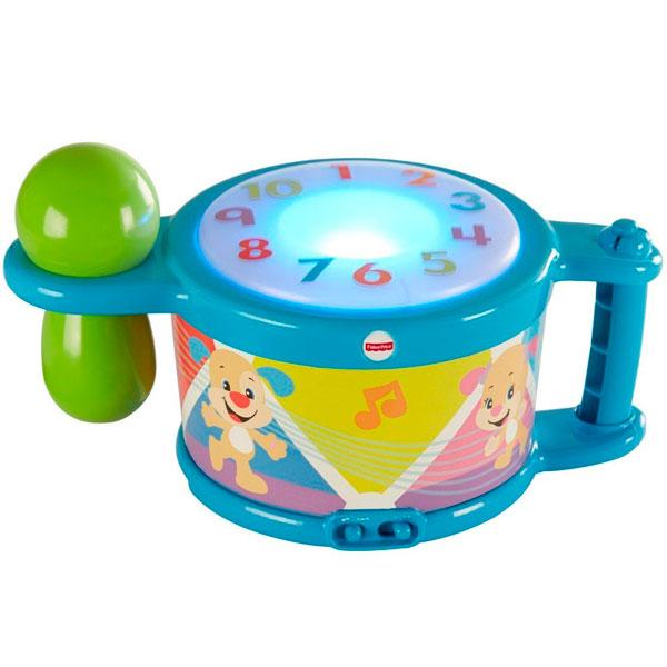 развивающие игрушки fisher price mattel обучающие карандаши смейся и учись Mattel Fisher-Price DRB22 Фишер Прайс Смейся и учись - Музыкальный барабан