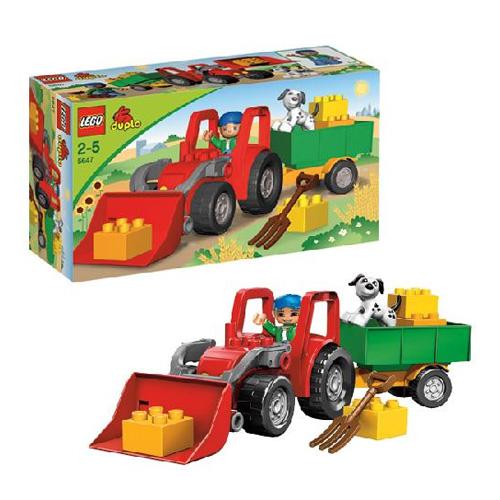 Lego Duplo 5647 Конструктор Большой трактор