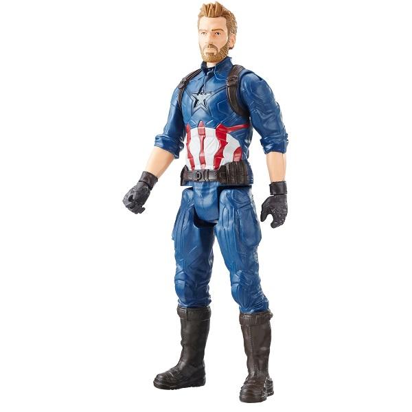 Hasbro Avengers E0570/E1421 Фигурка МСТИТЕЛИ Титаны Капитан Америка hasbro фигурка avengers мстители титаны класса а капитан америка 30 см