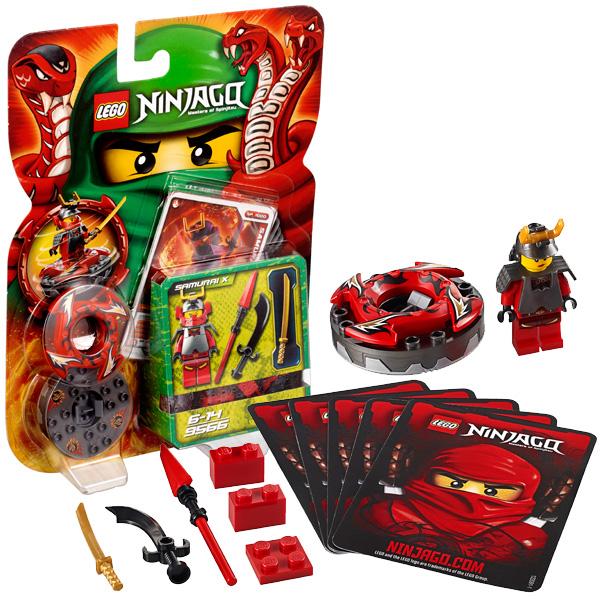 Lego Ninjago 9566 Конструктор Лего Ниндзяго Самурай