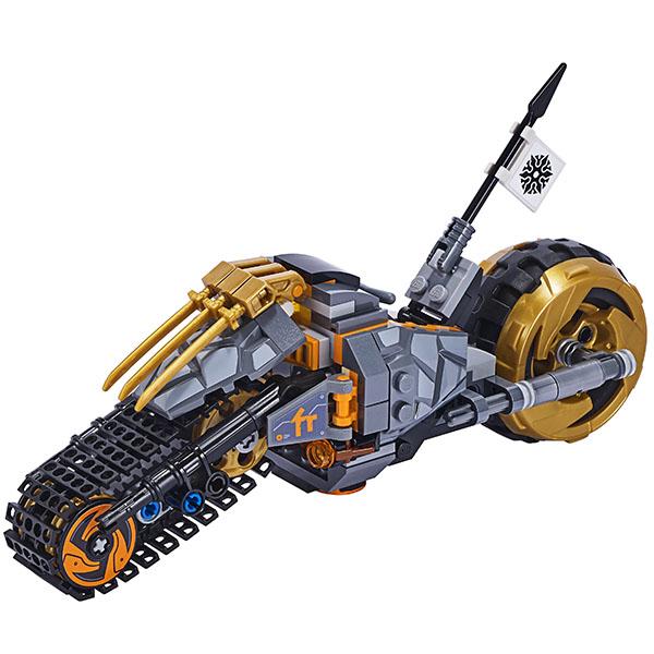 LEGO Ninjago 70672 Конструктор ЛЕГО Ниндзяго Раллийный мотоцикл Коула