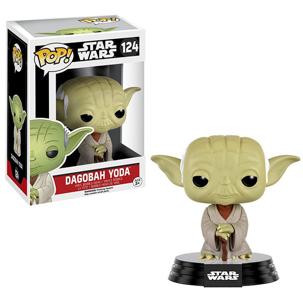 Funko POP 10105F Bobble: Star Wars: Dagobah Yoda 10105 funko pop bobble фигурка star wars solo qi ra pop 6 26977