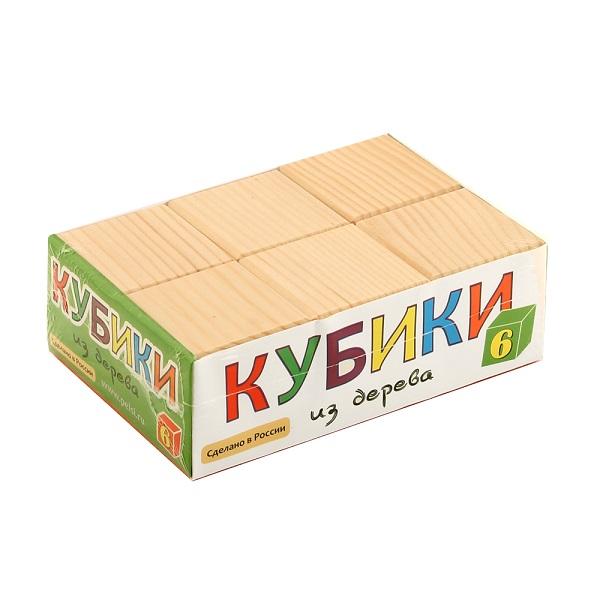 Pelsi i660 Кубики неокрашенные, 6 шт.