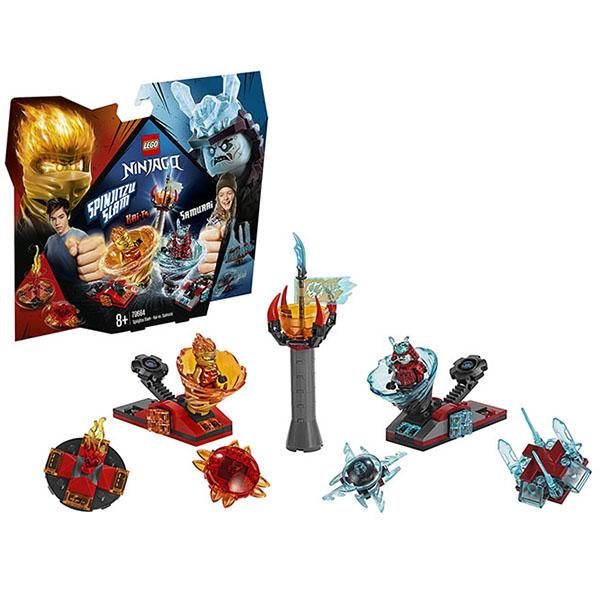 цена на LEGO Ninjago 70684 Конструктор ЛЕГО Ниндзяго Бой мастеров кружитцу - Кай против Самурая