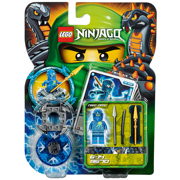Lego Ninjago 9570 Конструктор Лего Ниндзяго Энерджи Джей