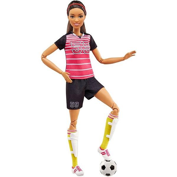 Mattel Barbie FCX82 Барби Футболистка mattel barbie dmb27 барби сестра barbie с питомцем