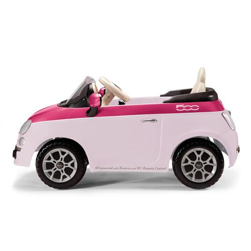 Детский электромобиль Peg-Perego ED1164 FIAT 500 (розовый)+ р/у