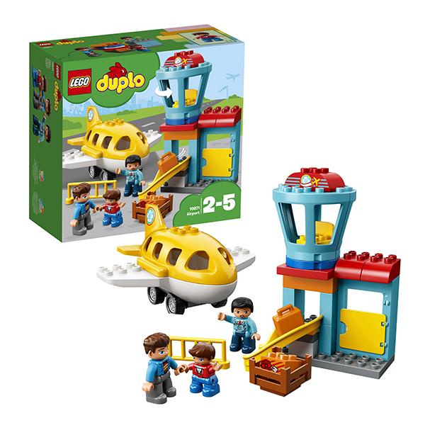 Lego Duplo 10871 Конструктор Лего Дупло Аэропорт lego duplo 10871 конструктор лего дупло аэропорт