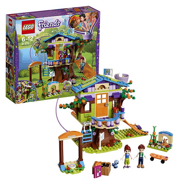 Lego Friends 41335 Конструктор Лего Подружки Домик Мии на дереве конструктор lepin girls club домик мии на дереве 393 дет 01059
