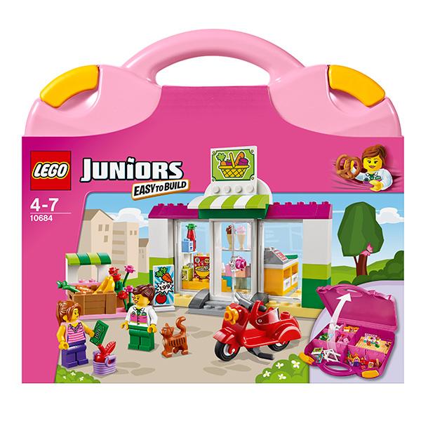 "Lego Juniors 10684 Лего Джуниорс Чемоданчик ""Супермаркет"""