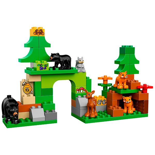 Лего Дупло 10584 Конструктор Лесной заповедник