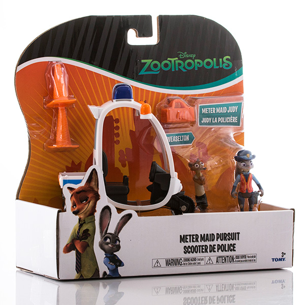 Zootropolis L70021 Зверополис Мотороллер, Джуди и Хорьковиц