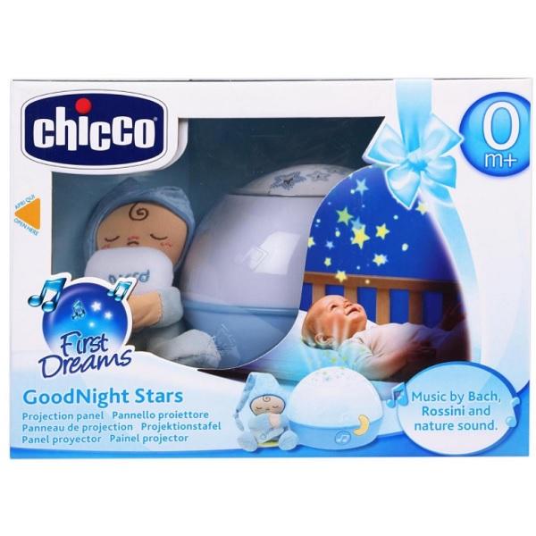 """CHICCO TOYS 24272 Проектор """"Первые грезы"""" голубой от 0 месяцев"""