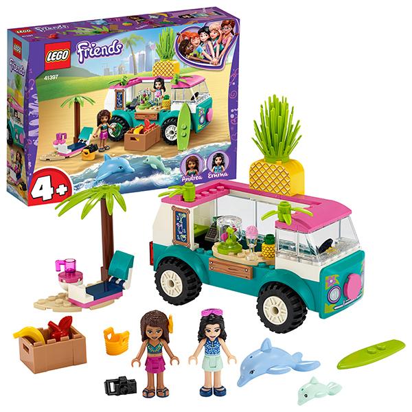 LEGO Friends 41397 Конструктор ЛЕГО Подружки Фургон-бар для приготовления сока lego elves 41193 конструктор лего эльфы эйра и дракон песня ветра